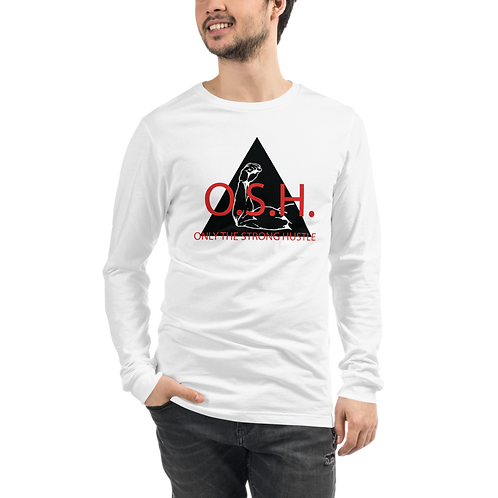 RIPD Art Wear Only the Strong Long Sleeve T-Shirt
