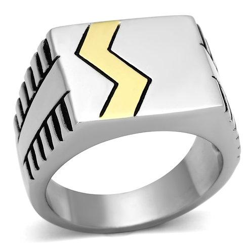 RIPD Art Wear Men Stainless Steel Epoxy Rings