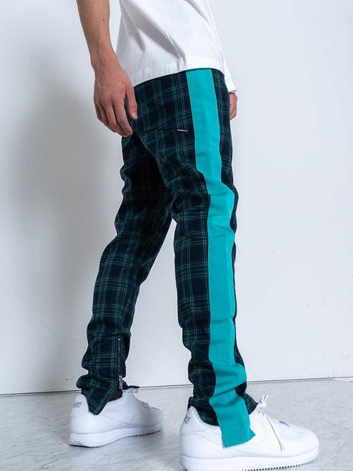 RIPD Art Wear Green Plaid Pants