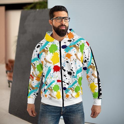 RIPD Art Wear ColorBlock Zip Hoodie