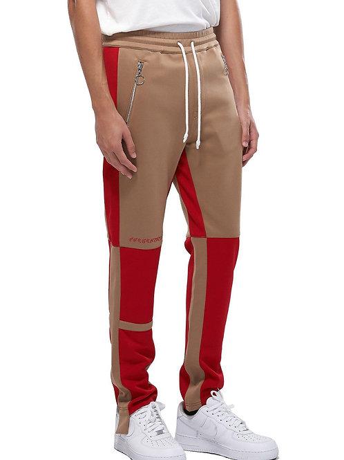 RIPD Art Wear Camel ColorBlock Track Pants