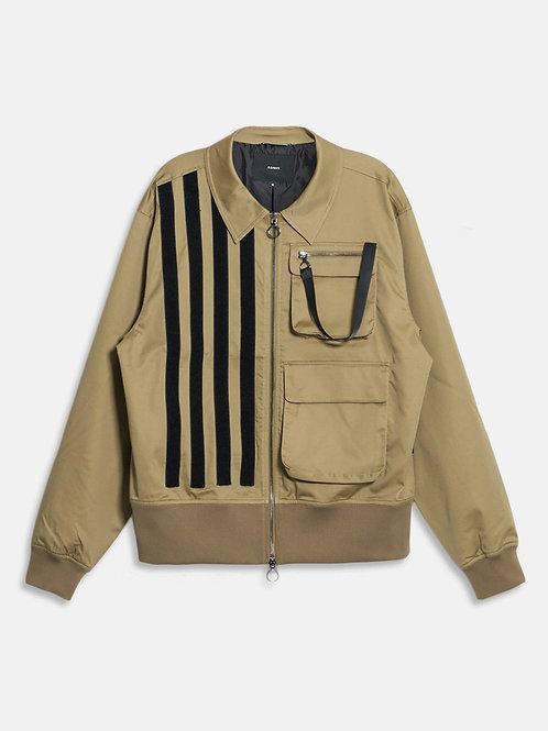 RIPD Art Wear Khaki Jacket with Bellow Flap Pockets