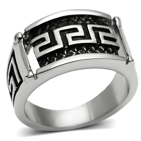 RIPD Art Wear Stainless Steel Ring