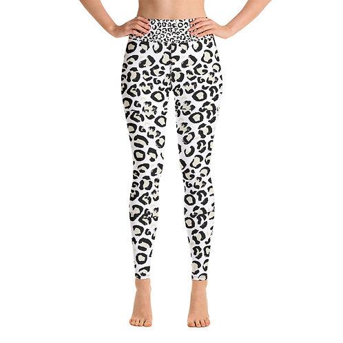 RIPD Art Wear Cheetah Print Yoga Leggings