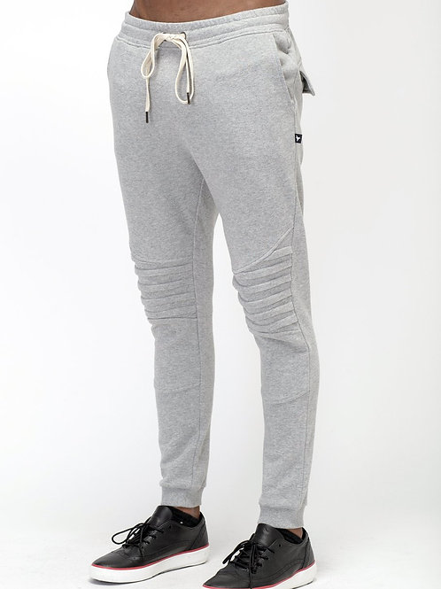 RIPD Art Wear Biker Style Joggers - Grey