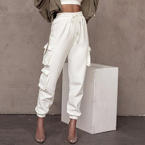 RIPD Art Wear | Chic Pocket Casual Cargo Joggers