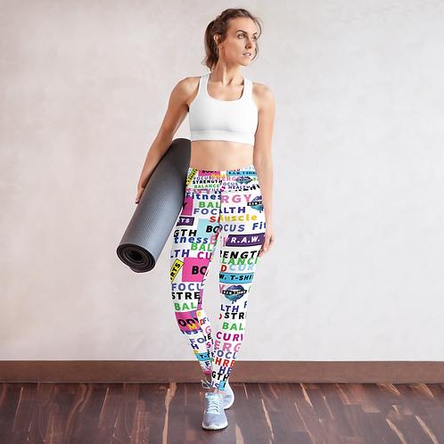 RIPD Art Wear Signature Print Yoga Leggings