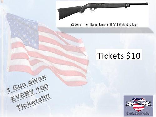 Ruger 10/22 Ticket