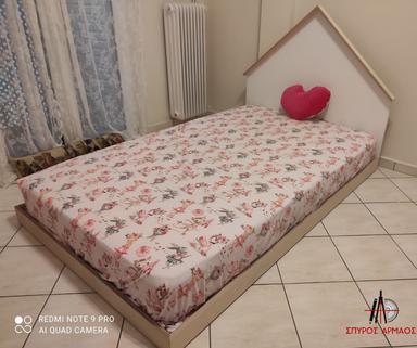 Παιδικό κρεβάτι με παλέτες