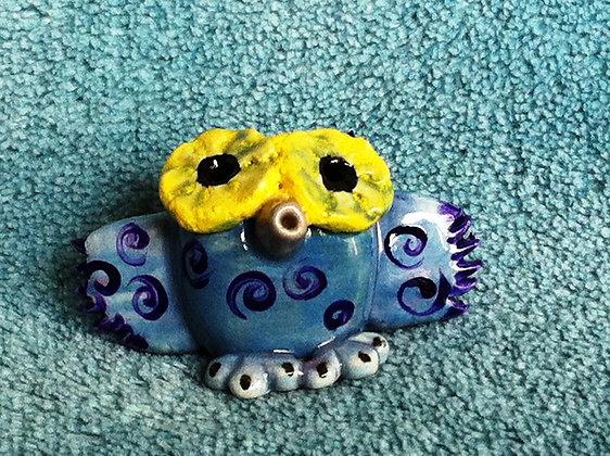 Mini Purple Owl