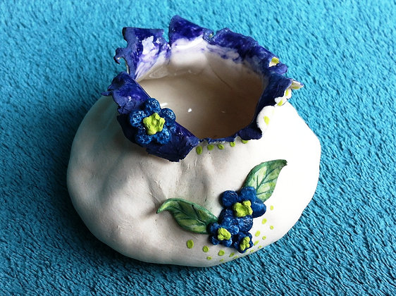 Forget-Me-Not Small Vase