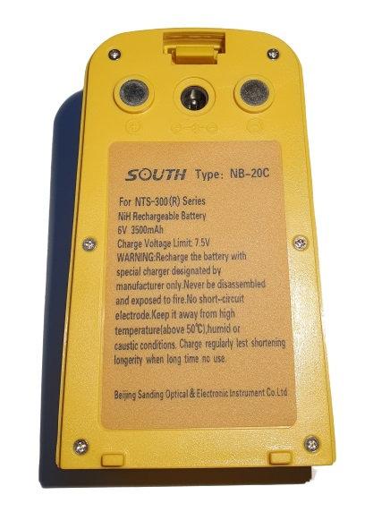 Bateria South para estacion total (NB-20 conectores abajo) (NB-20 conectores a