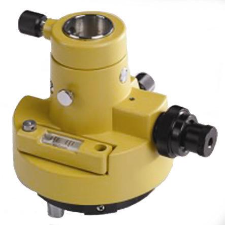 Adaptador rotativo Tribach con plomada optica