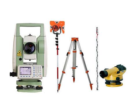 Estacion total laser  Sanding ARC5 + Nivel NL20G
