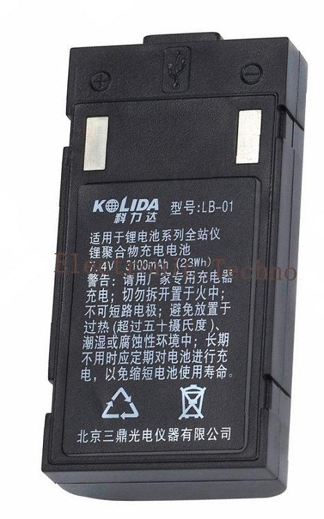 Bateria South para estacion total modelo LB-01 sin cargador
