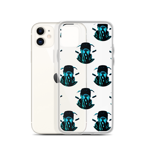 Graphwize Crystal Ball Pattern iPhone Case Clear
