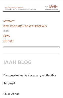 The Irish Association of Art Historians