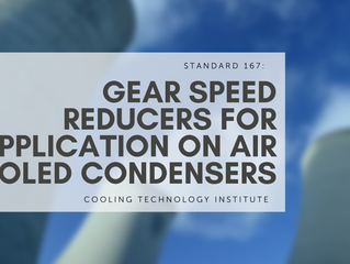 Standard 167: Gear Speed Reducers for Application on Air Cooled Condensers