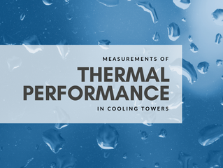 Measurements of Thermal Performance in Cooling Towers