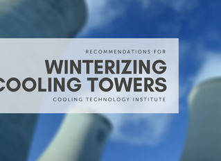 Recommendations for Winterizing Cooling Towers