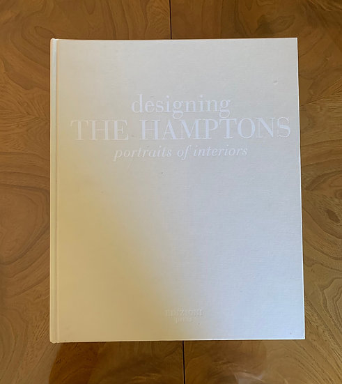 DESIGNING THE HAMPTOMS BY DIANA LIND - RARE USED