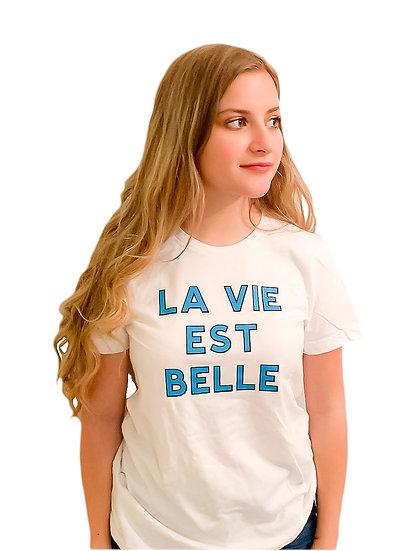 LA VIE EST BELLE - T-SHIRT - ADULT WOMEN'S