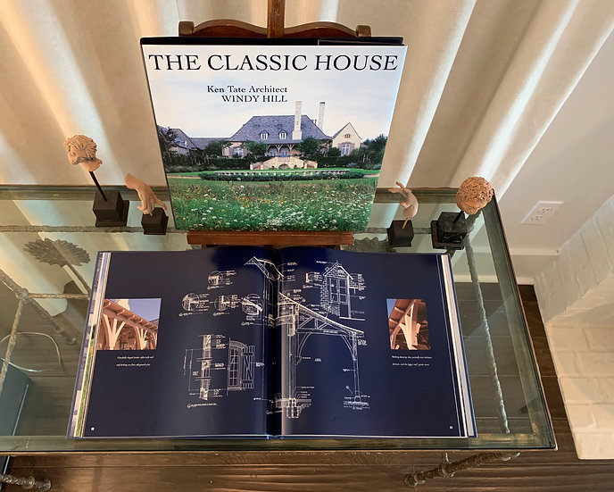 THE CLASSIC HOUSE: WINDY HILL - KEN TATE ARCHITECT - RARE USED