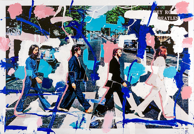 ABBEY ROAD ART BY KEN TATE - SIGNED PRINT