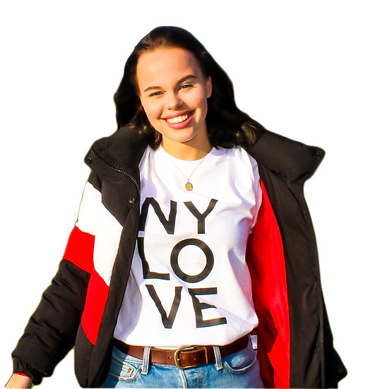 NY LOVE T-SHIRT - ADULT UNISEX
