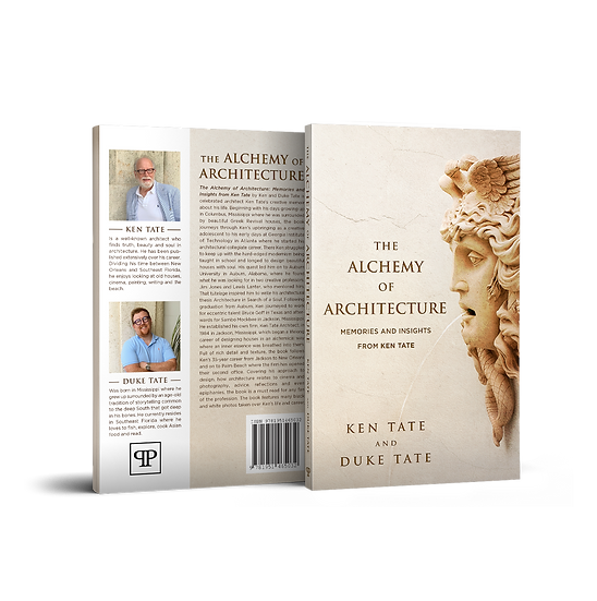 THE ALCHEMY OF ARCHITECTURE - SIGNED PAPERBACK