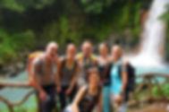 Costa Rica Pura Vida & Yoga Gruppe, Rio Celeste