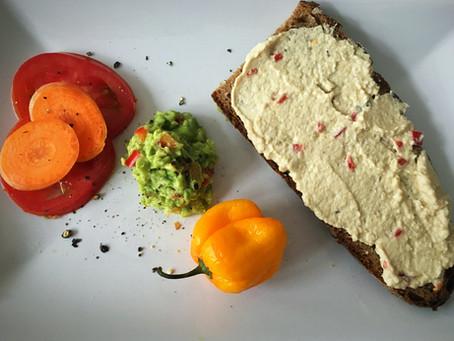 Cashewfrischkäse spicy & vegan