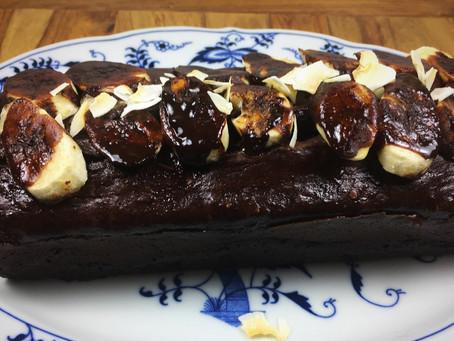 Schoko-Bananen-Kuchen vegan