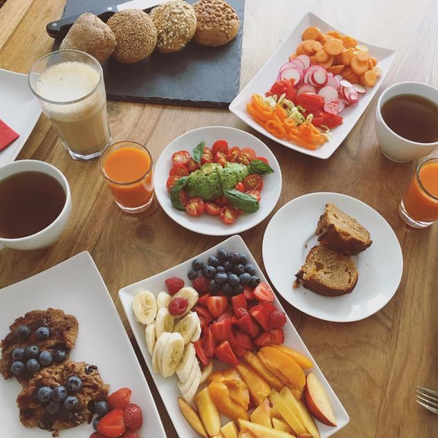 Ein gesundes Frühstück ist die halbe Miete