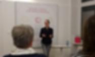 Issbewusst - Ernährungscoaching mi Kerstin Obermoser, Vortrag bei Mrs. Sporty zum Tag der gesunden Ernährung