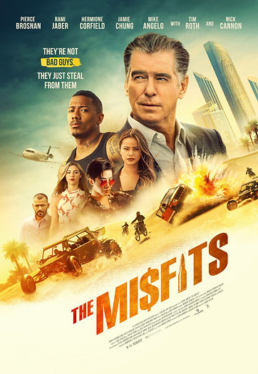 The Misfits - Zarva360 provided trailers and honey wagons for this shoot in Abu Dhabi and Dubai