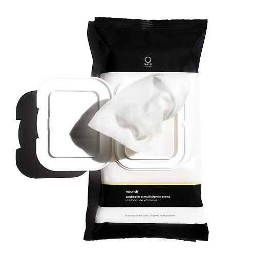 KAIA NATURALS - The Vitamin Cleanse Make Up Remover Wipes (30 pack)