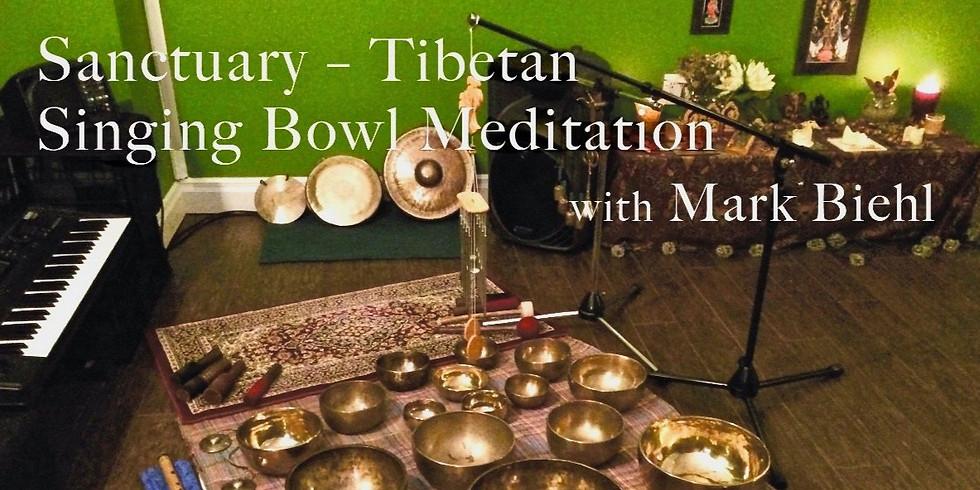 Zoom Sanctuary Sound Meditation with Mark Biehl