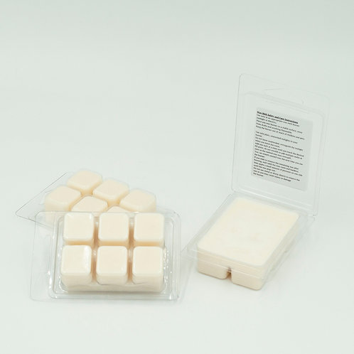 """Scoop of Vanilla"" Soy Wax Melt Cubes in Single Clamshell or Pack of Three"