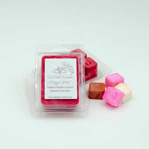 """""""A Tall, Vanilla Swagger Latte"""" Scented Soy Wax Melt in Single or Pack of Three"""