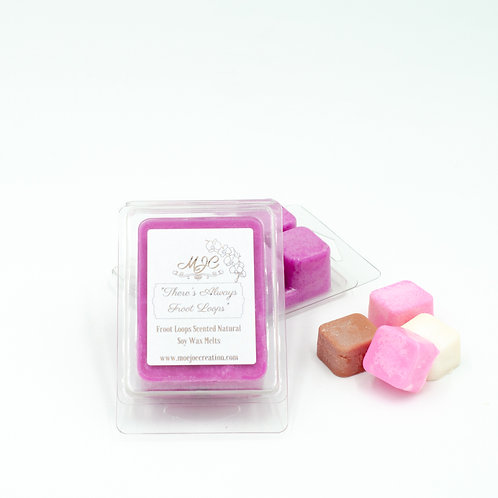 """""""There's Always Froot Loops"""" Scented Soy Wax Melts in Singles or Packs of Three"""