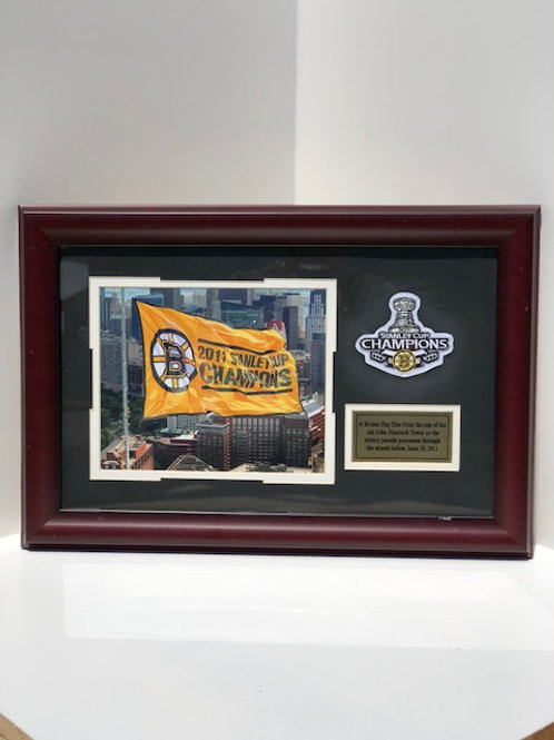 Framed Boston Bruins