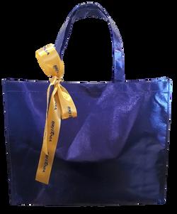 Sacola de TNT Laminado Azul