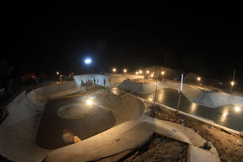 Skatepark in Udipur, Rajasthan