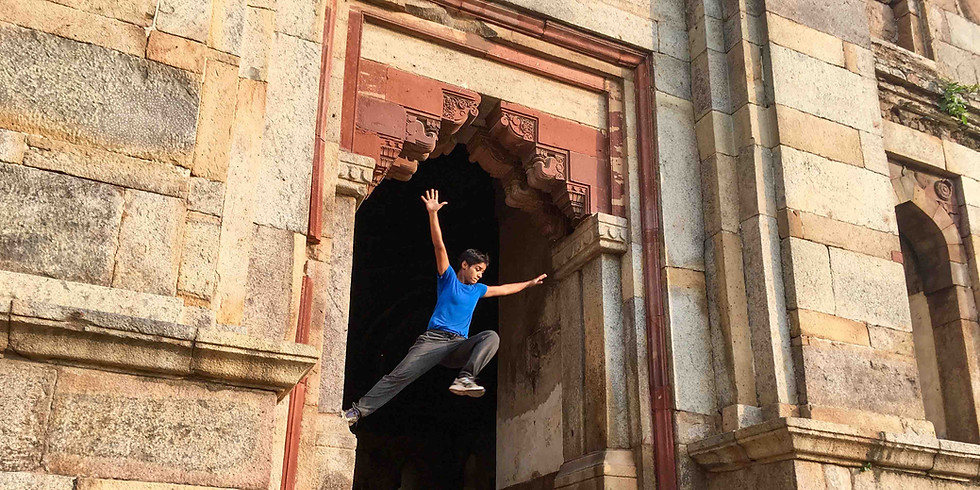 In conversation with Kriti Gupta, a parkour &movement practitioner/Coach and co-founder of Vanarshala