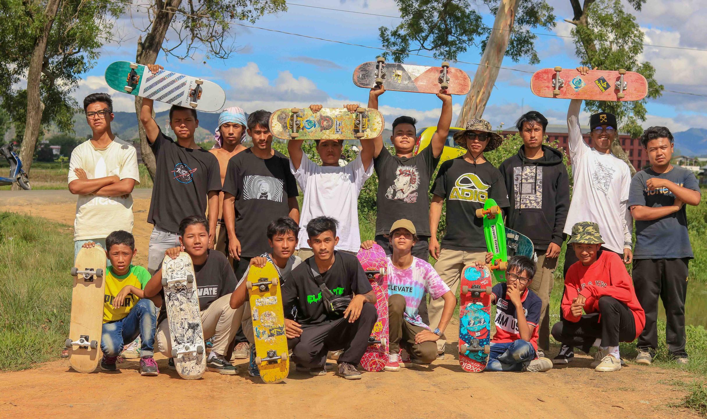 Manipur boarders. Pic credit: Elevate Manipur