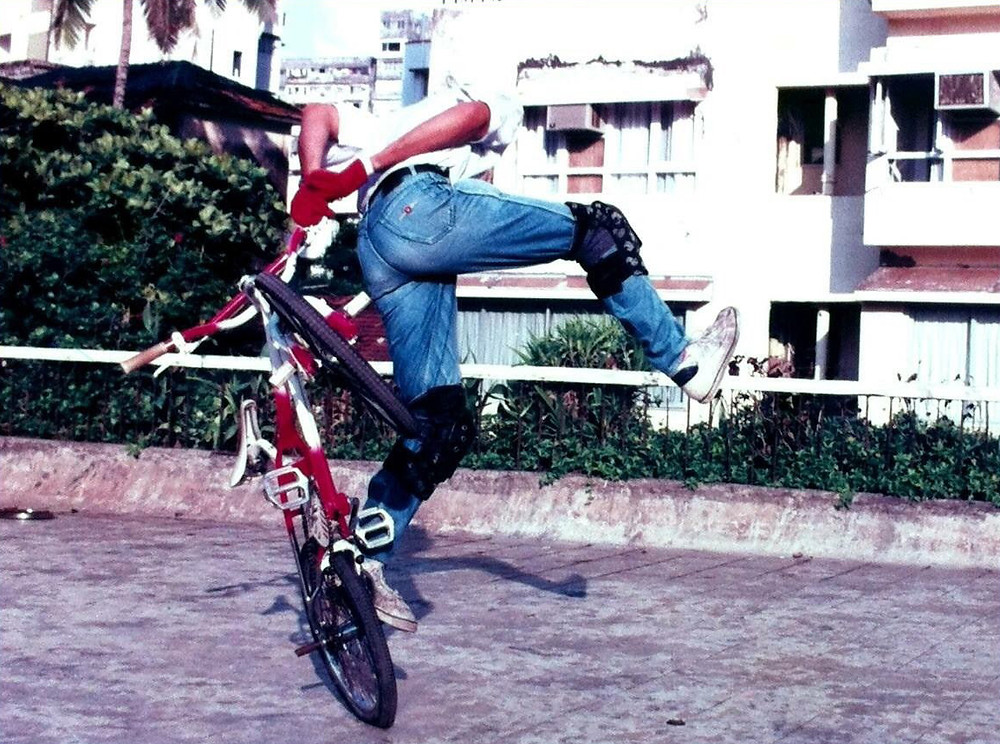 Rahul Mulani in his early days