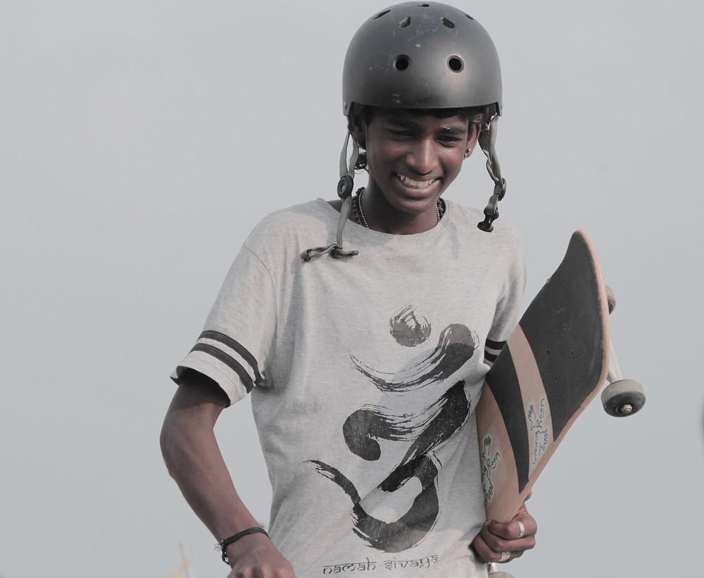 Joshan enjoying his day with his love. Pic credit: Vishnu T Chandran