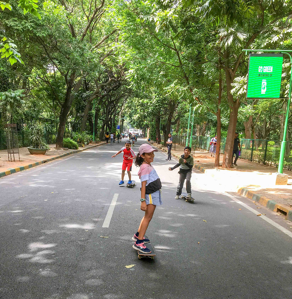 Riddhi from Bangalore enjoying her day. Pic credit: Amit Subba