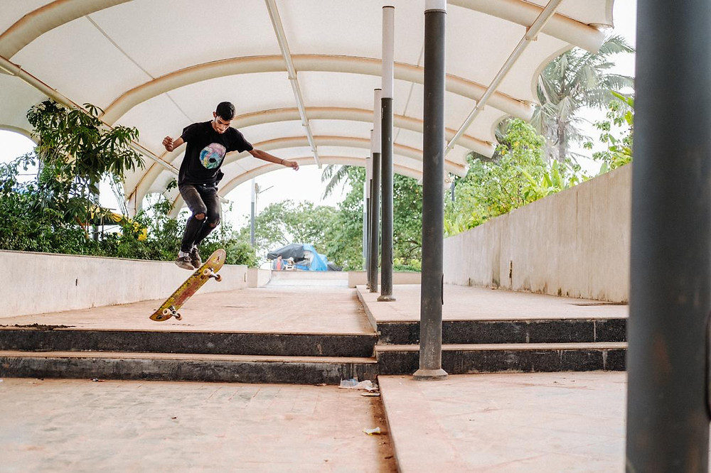Goa boarders. Pic Credit: Samuel Ferreira and Siddhant Vas